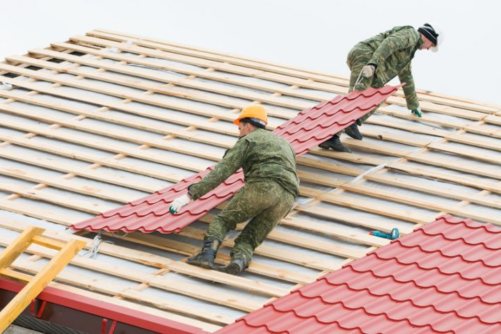 Dachplatten Alu