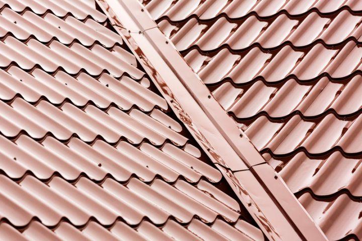 Dachplatten aus Blech