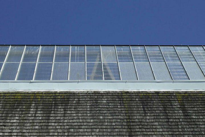 Transparente Dachplatten