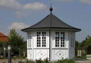 Dachrinne Gartenhaus