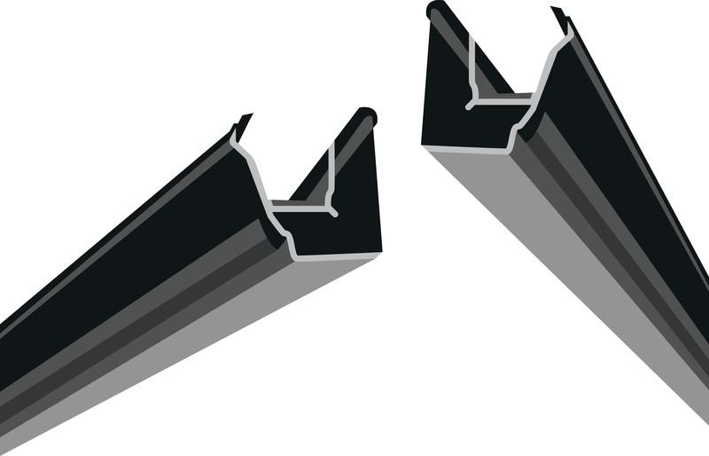 dachrinne f r das gartenhaus kauftipps und bezugsquellen. Black Bedroom Furniture Sets. Home Design Ideas