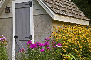 Dachschindeln Gartenhaus