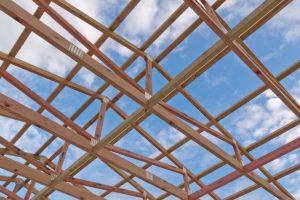 Dachstuhl aufstellen