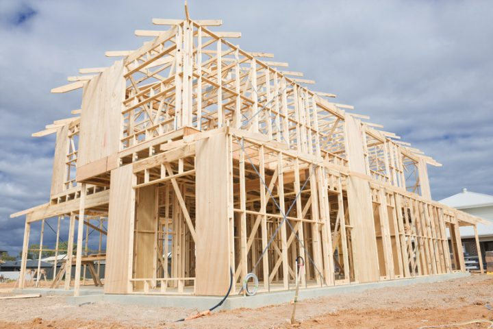 Dachstuhl bauen