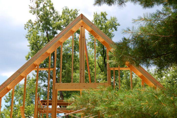 Hervorragend Einen Dachstuhl selber bauen » So wird's gemacht RT91