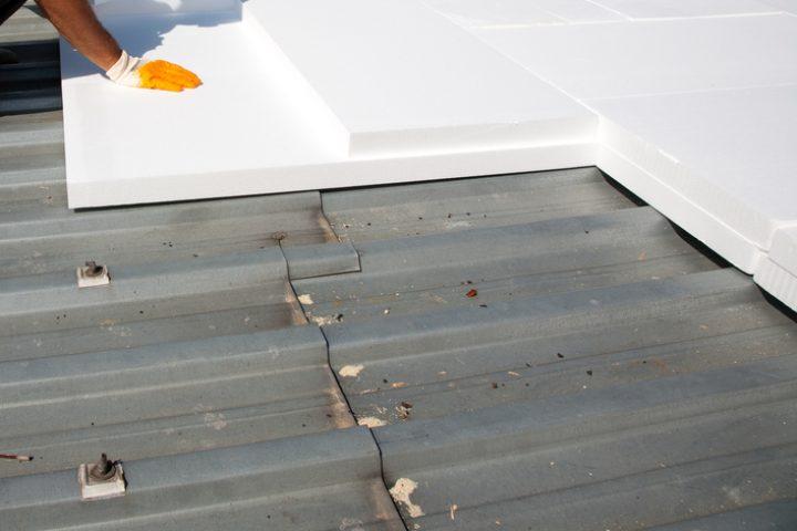 Dachterrasse dämmen