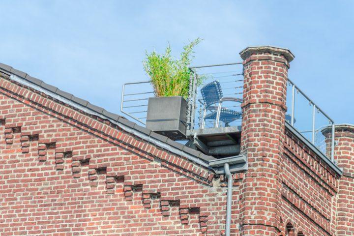 Dachterrasse Unterbau