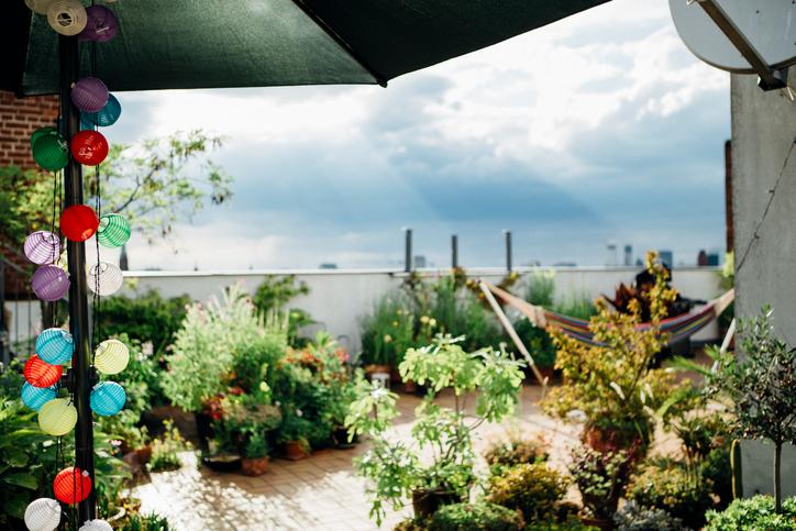 Ideen Für Dachterrasse dachterrasse verschönern » leicht umsetzbare, kreative ideen