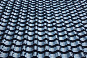 Dachziegel aus Blech