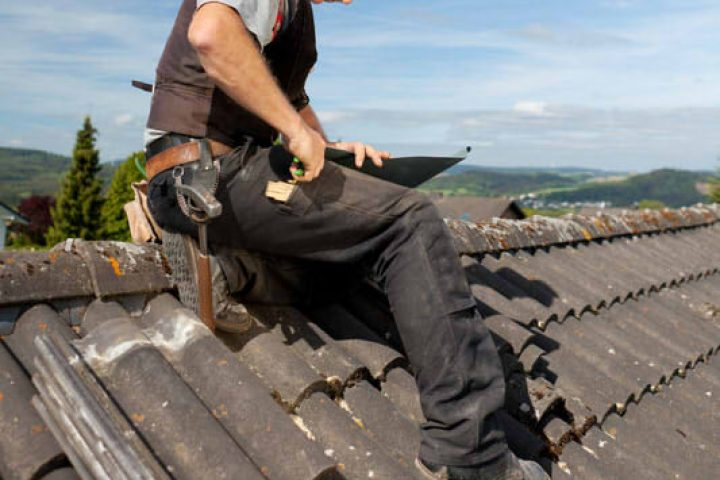 Fabulous Dachziegel austauschen » Anleitung in 4 Schritten HG55
