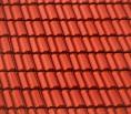 Dachziegel rot