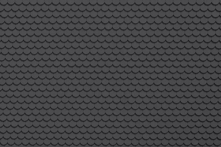 Dachziegel schwarz