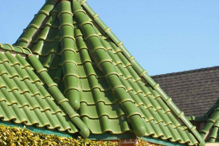 Dachziegelbeschichtung