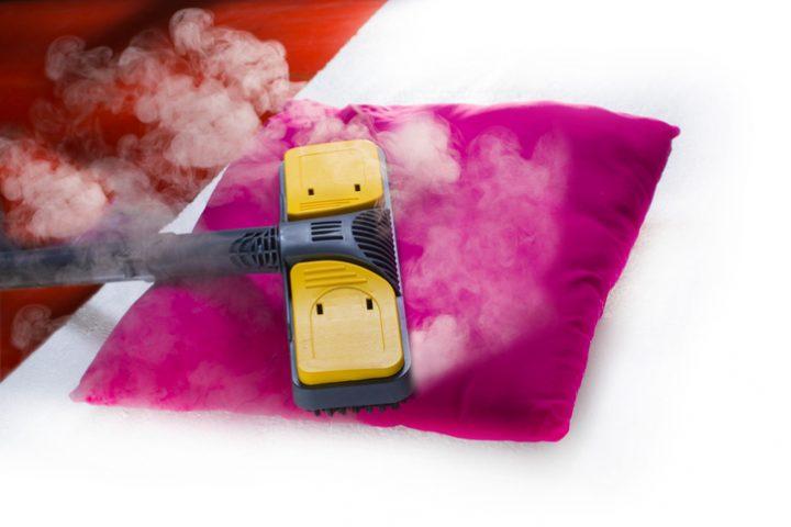 Dampfreiniger desinfizieren
