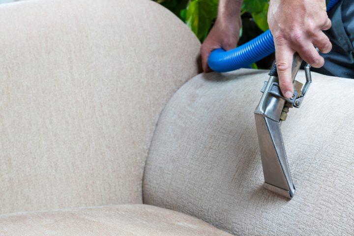 Dampfreiniger Sessel