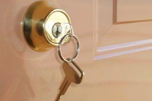 Darf-Vermieter Schlüssel behalten