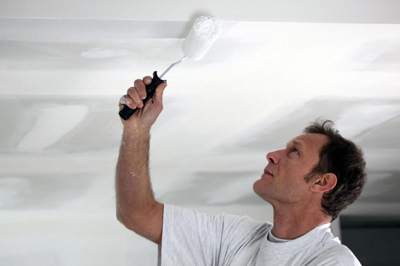 decke streichen ohne flecken und tropfen so wird 39 s gemacht. Black Bedroom Furniture Sets. Home Design Ideas