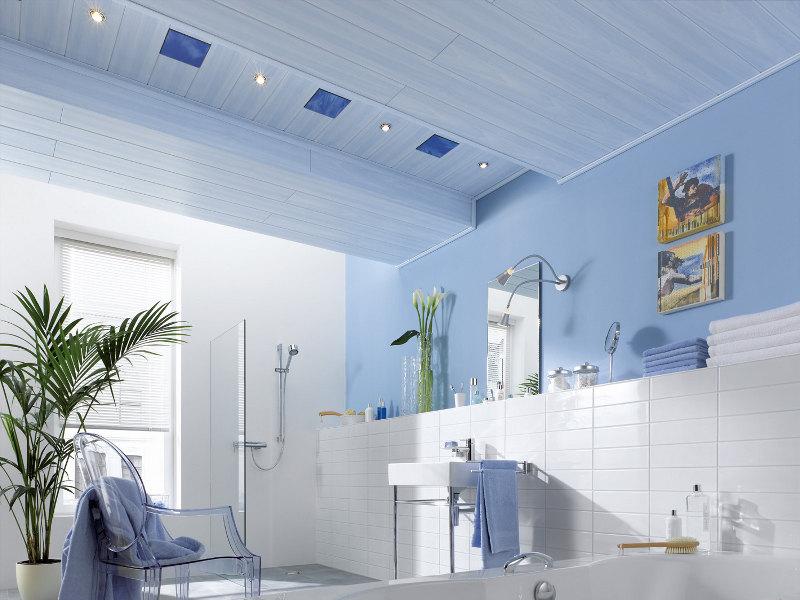 Deckenpaneele streichen anleitung f r alle materialien - Anstrich badezimmer ...