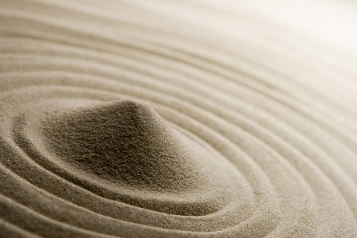 Dichte Sand