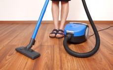 Dielenboden reinigen