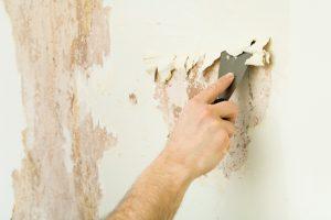 Dispersionsfarbe Wand entfernen