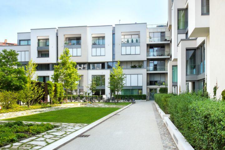 Doppelhaus Bauhausstil