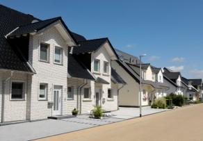 Doppelhaus Muster