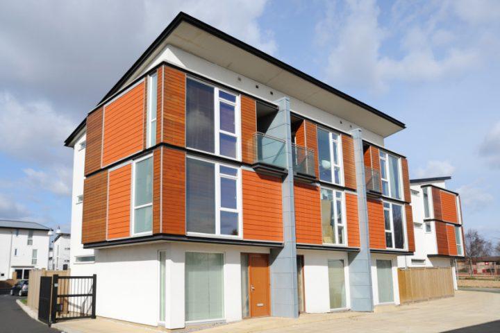 Hervorragend Doppelhaus mit Pultdach » Vor- & Nachteile ZF28