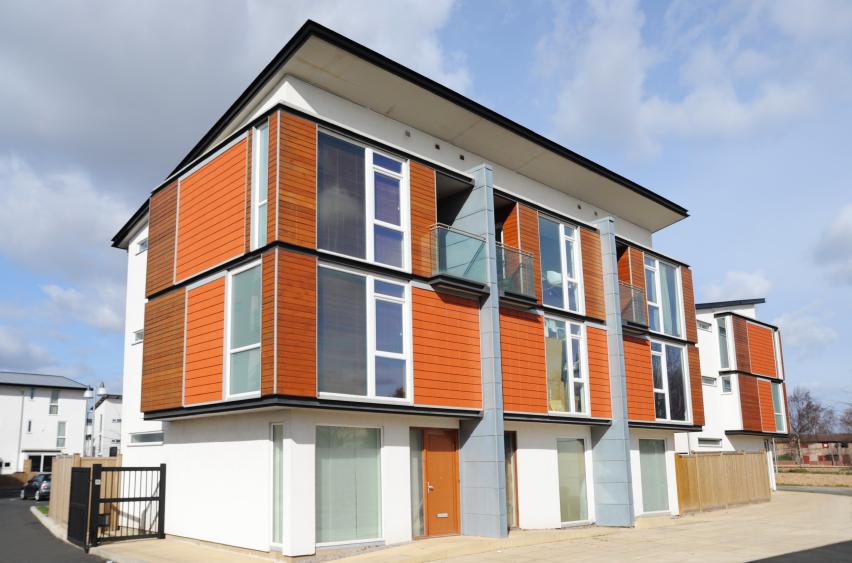 Doppelhaus mit pultdach vor nachteile for Doppelhaus modern bauen