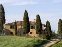 Das Doppelhaus im Toskana-Stil