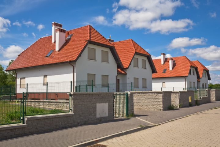 Doppelhaus Walmdach