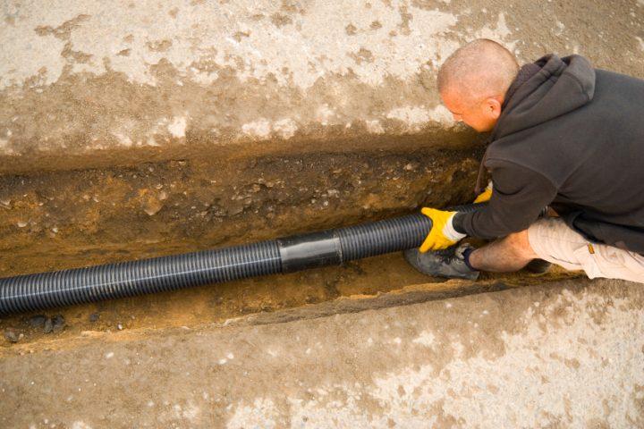 Häufig Drainage verlegen » Auflistung der Kosten WQ75