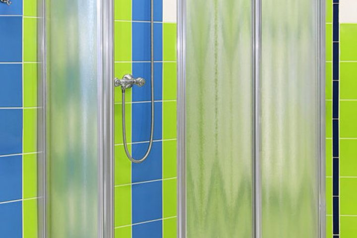 Dusche Schiebetür