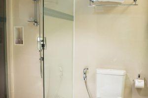 Dusche ohne Bohren
