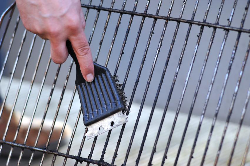 grillrost aus edelstahl reinigen so wird es wieder sabuer. Black Bedroom Furniture Sets. Home Design Ideas