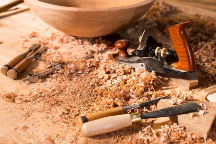 Eichenholz bearbeiten