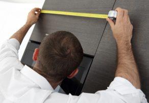 Einbauküche maße  Einbauküche » Maße für Höhe, Tiefe und Breite