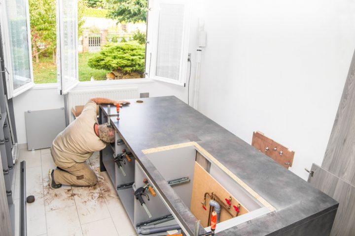 Einbauküche montieren