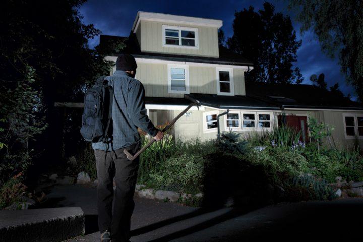 Einfamilienhaus Einbruchschutz