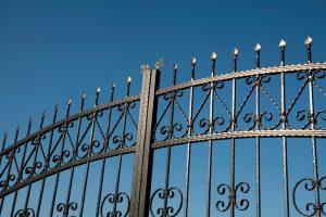 Einbruchschutz Tor