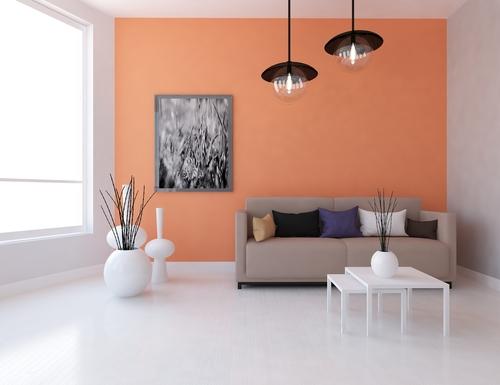 Eine Wand Farbig Streichen » Wirkungsvolle Effekte