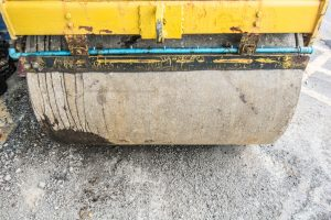 Einfahrt Unterbau für Asphalt