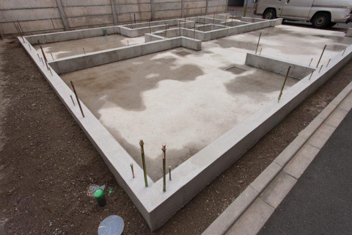 Einfamilienhaus Bodenplatte