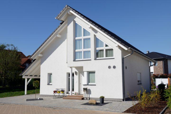 Einfamilienhaus grundriss mit maße  Maße vom Einfamilienhaus » Raumaufteilung & Beispielmaße