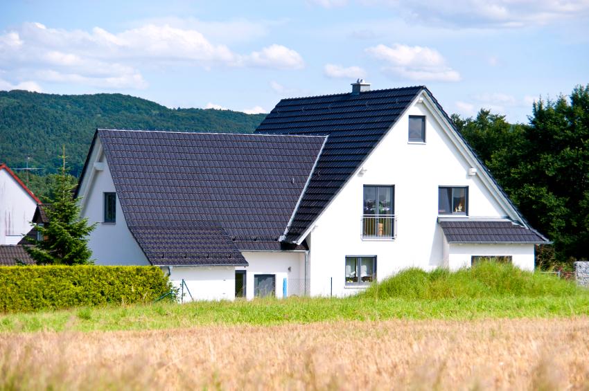 satteldach f rs einfamilienhaus vor nachteile im. Black Bedroom Furniture Sets. Home Design Ideas