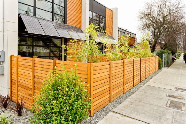 Simple Zaun Sichtschutz With Zaun Reihenhaus