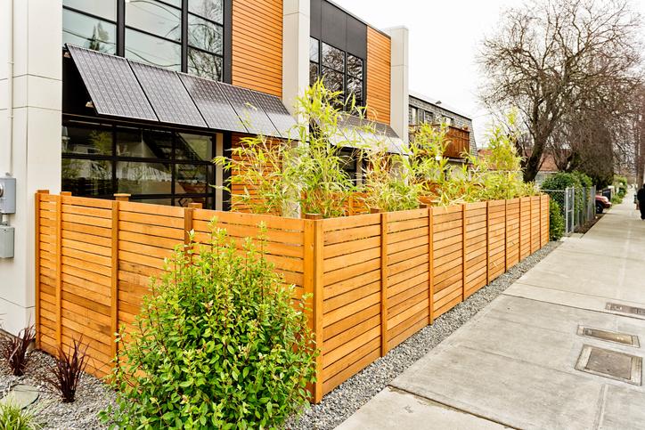 Einfriedung als sichtschutz das sollten sie bedenken for Gartengestaltung abgrenzung zum nachbarn