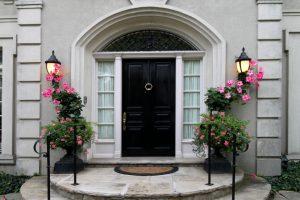 Eingangstreppen Hauseingang