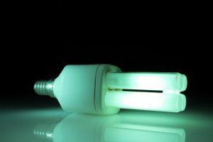 Quecksilber Energiesparlampe