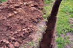 Entwässerungsgraben graben